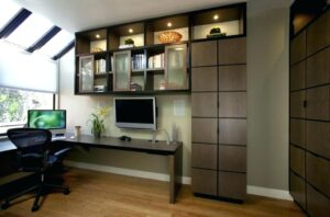 relaxing home office setups